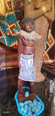 Ancient Egyptian Laborer (wood)