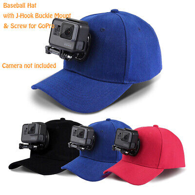 Outdoor Casual Hat Baseball Cap With J-Hook Buckle Mount For GoPro HERO Travel