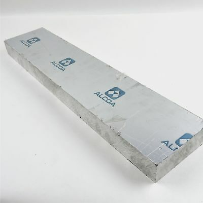 "1.75"" thick 1 3/4 CAST Aluminum MIC-6 Alcoa PLATE 5.5"" x 21.25"" long sku151185"