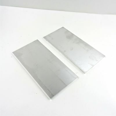 ".375"" thick 6061 Aluminum PLATE  5.75"" x 12.375"" Long QTY 2 Stock sku 122273"
