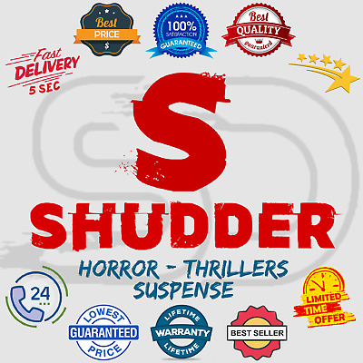 Shudder Subscription Account 📺 Horror - Thrillers - Suspense 😲 Lifetime Warran