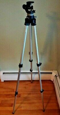 Bogen 3020 Chrome Tripod with 3025 Head