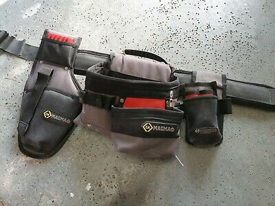 C.K Magma Professional Toolbelt Set + Tester Pouch