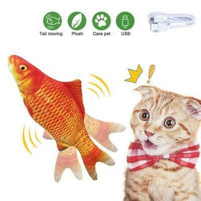 Electronic Pet Cat Toy Electric Simulation Fish USB Charging Toys