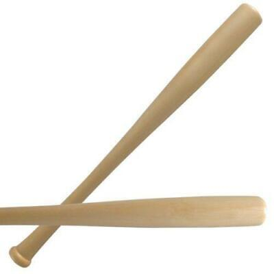 """Heavy Duty Wooden Baseball Rounders with or without Softball Bat size 24""""or 62cm"""