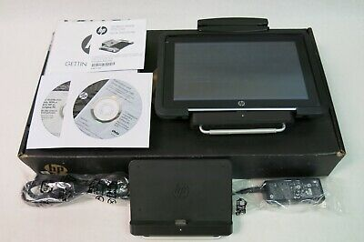 HP Slate 2 HP Retail POS Case Barcode Scanner Manuals Backup DVDs AC Adapter