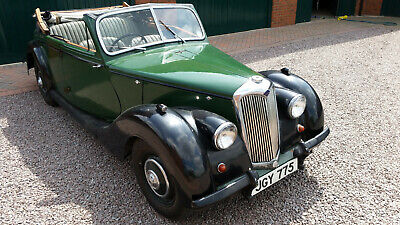 Riley RMA Convertible Drophead Roadster 1947 Very Roomy Five Seat Family Tourer
