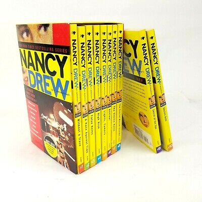 Nancy Drew: Girl Detective Ultimate Books Collection #1 (Box Set #1-8) + #9 & 10