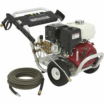 NorthStar Gas Cold Water Pressure Washer - 4200 PSI, 3.5 GPM, Aircraft-Grade