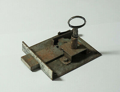 Antique Lock & Key - Vintage French Furniture Locks,  Doors - Drawer - Cupboard