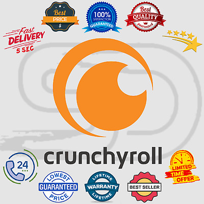 Crunchyroll Premium Subscription Account 📺 Anime - Drama - Manga 😲 Lifetime
