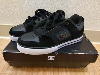 DC Shoes Mens Pure SE Casual Shoes Skate Black Size 8 NEW in Box