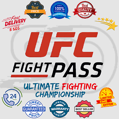 UFC Fight Pass Subscription Account 📺 Lifetime Warranty 😲 Instant Delivery 5sc