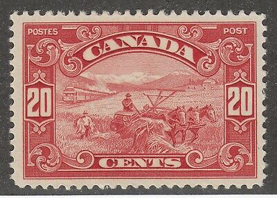 Canada 157 MNH KGV Scroll Issue Harvesting Wheat King George V