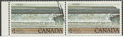 Canada MINT MNH 726 Pair MAJOR INK SMEAR + Printing ErRoR VaRiEtY RARE L@@K