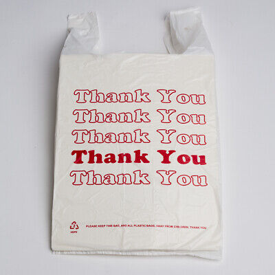 T-Shirt Carry-out Bags 500 Pieces HEAVY DUTY
