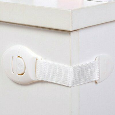 Baby Safety Cupboard Door Drawer Lock Clip Baby/Child/Kid Proof Fridge Locks Hu