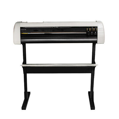 """28"""" Plotter Machine LCD Vinyl Cutter Plotter Sign Cutting Equipment With Stand"""