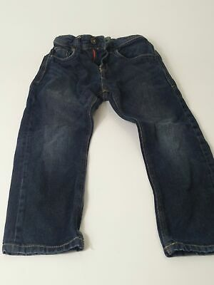 Boys Next Blue Dark Wash Adjustable Waist Denim Jeans Age 5 Years
