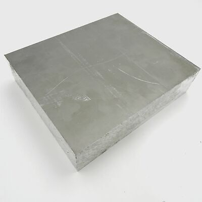 "1.75"" thick 1 3/4  Aluminum 6061 PLATE  9.25"" x 10.375"" Long  sku 176071"