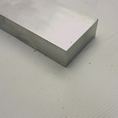 "1.25"" x 3"" Aluminum 6061 FLAT BAR 32"" Long new mill stock sku A707"