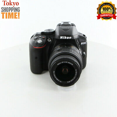 Nikon D5300 Digital SLR Camera Black Body + 18-55mm F/3.5-5.6 Lens JP