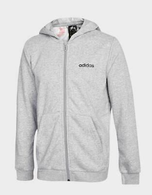 adidas Linear Fleece Full Zip Hoodie Junior
