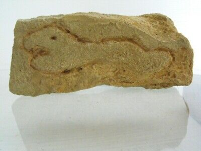 MEDIEVAL CARVED STONE FRAGMENT, 9th. century