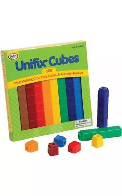 Unifix Cubes Pack Of 100 Numberblocks PROMOTIONAL PRICE!!!
