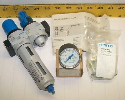New Festo Filter Regulator Lfr-1/4-D-Mini