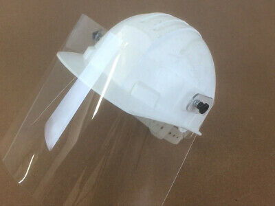 PPE HARD HAT VISOR with ATTACHMENT (ADJUSTABLE AND CLEAR) *NO HARD HAT INCLUDED
