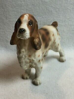 Vintage Lefton English Springer Spaniel Dog Figurine