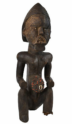 Teke Reliquary Seated Figure Congo Gabon African Art Collection
