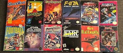 Complete in Box / Boxed NES (Nintendo) Games ** You Pick ** **Combine Shipping**
