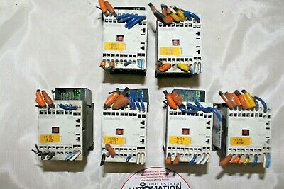 (Lot Of 6) Siemens Contactor 3Rt1017-2Kb42