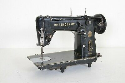 1954 Singer 306K Sewing Machine ZigZag Heavy Duty As Is Untested Simanco 1 Used