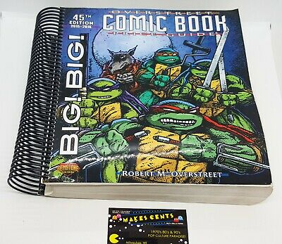 OVERSTREEET COMIC BOOK PRICE GUIDE 45TH EDITION BIG! BIG! By Robert M Overstreet