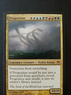4 PLAYED Conflux Gold Conflux Mtg Magic Mythic Rare 4x x4