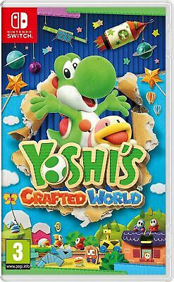 Yoshi's Crafted World Nintendo Switch Brand New Sealed Official