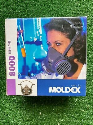 New  Moldex 8000 series mask reusable respirator new PPE (mask only) Large