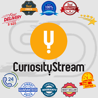 CuriosityStream Subscription Account 📺 Lifetime Warranty 😲 Instant Delivery 5s