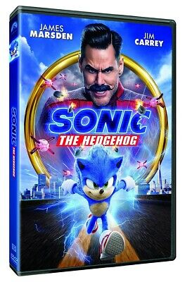 Sonic The Hedgehog DVD 2020 BRAND NEW FAST SHIPPING