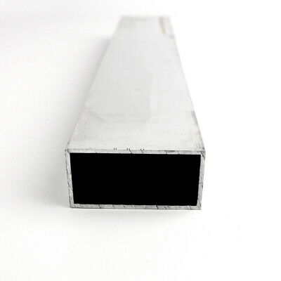 "1"" x 2"" x 0.125"" Aluminum Rectangle Tube 6061-T6-Extruded : 48.0"""