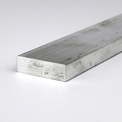 "0.375"" x 6"" Aluminum Rectangle Bar 6061-T6511-Extruded : 12.0"""