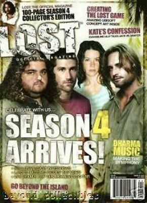 Lost Official Magazine - Cast Cover - Season 4 Arrives - Sawyer - Kate #15A