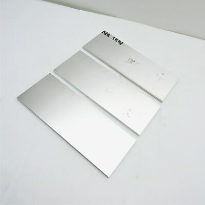 ".25"" thick  1/4  Aluminum 6061 PLATE  3.6875"" x 11.5"" Long QTY 3  sku 137034"
