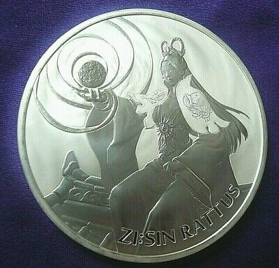 2020 South Korea ZI:SIN Rattus 1 oz .999 Silver Round Coin 22,000 Minted!