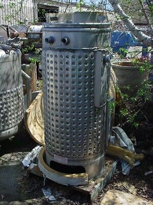 110 gallon STAINLESS STEEL JACKETED TANK
