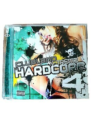 Clubland X-Treme Hardcore 4 by Various Artists 2 Discs Version Good Condition