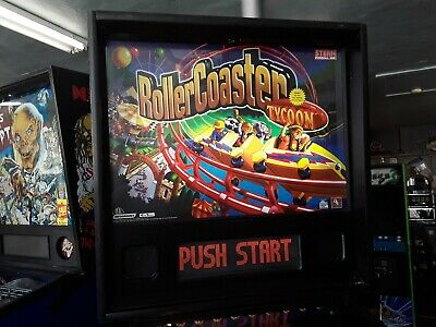 RollerCoaster Tycoon by Stern Pinball Machine-FREE SHIPPING